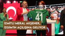İzmitli Meral Akşener, İZGİM'in açılışına geliyor
