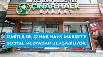 İzmitliler, Çınar Halk Market'e sosyal medyadan ulaşabiliyor