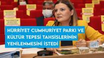 Hürriyet, Cumhuriyet Parkı ve Kültür Tepesi tahsislerinin yenilenmesini istedi