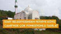 İzmit Belediyesinden Fethiye Köyü Camii'nde çok fonksiyonlu tadilat